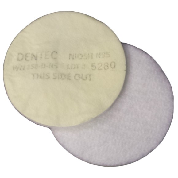 Comfort-Air Filter, N95 Filter Pads Non-Oil, Box of 100