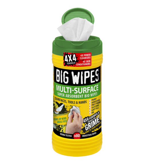 Big Wipes, Multi-Surface, 80 Count