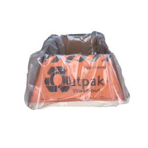 "Outpak Washout 30"" x 30"" Corrugated Construction Washout, Price Per Pallet of 50"