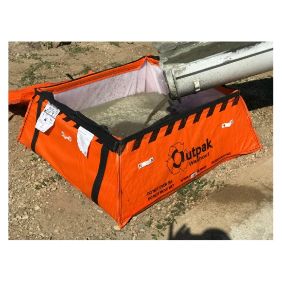 Outpak Washout 4'x 4' All-Weather Construction Washout, Price Per Pallet of 48