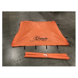 Outpak Washout 6' x 6' All-Weather Construction Washout -Top