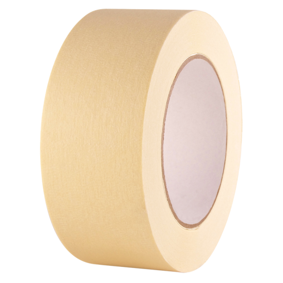 "3/4"" x 36 Yard Tan Masking Tape, Price per Box of 48"