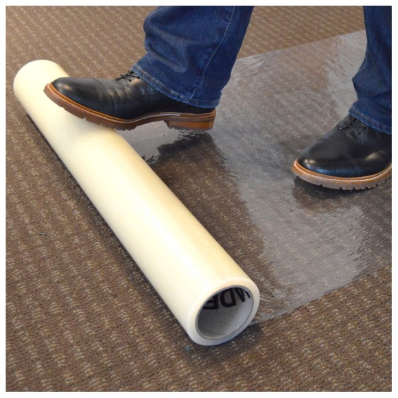 "Carpet Protection Film, 48"" x 500', Price per Roll"