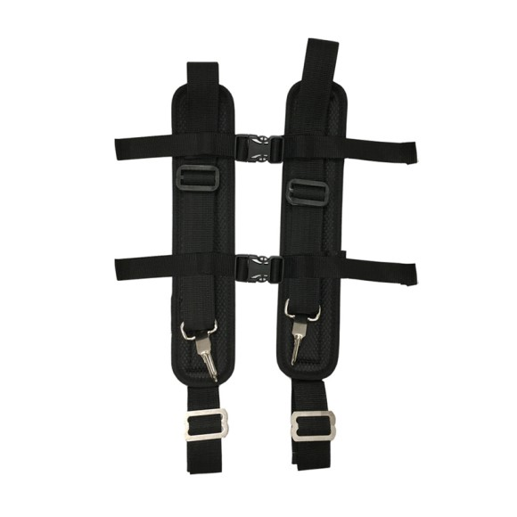 Silica Slayer Backpack Straps