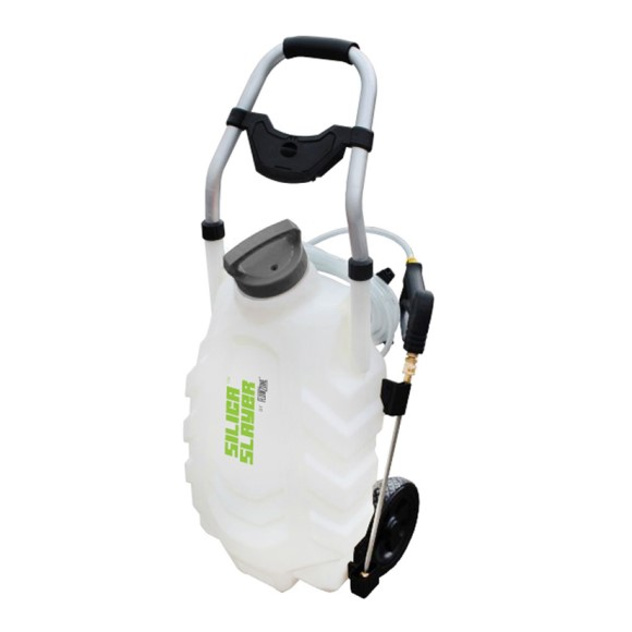 Silica Slayer 9-Gallon Multi-Use Continuous-Pressure 18V/5.2Ah Lithium-Ion Backpack Sprayer