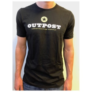 Outpost T Shirt, Black, L