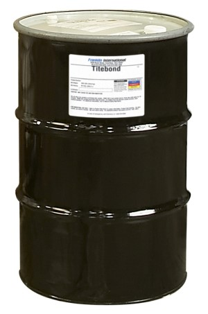 Wood Glue, Titebond, 55 Gallon Drum, Price per 3 Drums