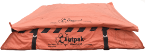 Outpak Washout 6' x 6' All-Weather Construction Washout - Bottom, Price Per Pallet of 24