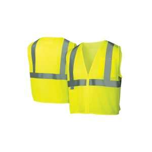 Pyramex Safety - Safety Vest - Hi-Vis Lime - Size 5X Large, Pricer per Box of 5