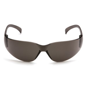 Pyramex Safety - Intruder - Gray Frame/Gray-Hardcoated Lens, Price per Box of 12 Pairs