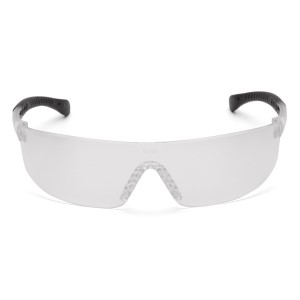 Pyramex Safety - Provoq - Clear Frame/Clear Anti-fog Lens, Price per Box of 12 Pairs