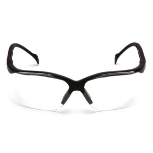 Pyramex Safety - Venture II - Black Frame/Clear Lens, Price per Box of 12 Pairs