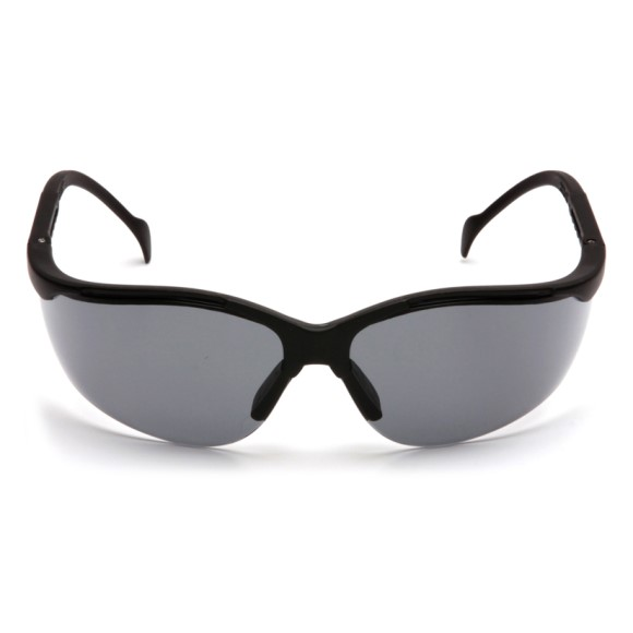 Pyramex Safety - Venture II - Black Frame/Gray Lens, Price per Box of 12 Pairs