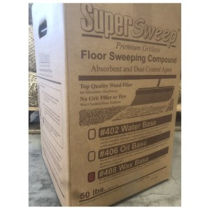 Floor Sweep, Water Based, 50lb Box, Price per Pallet of 24