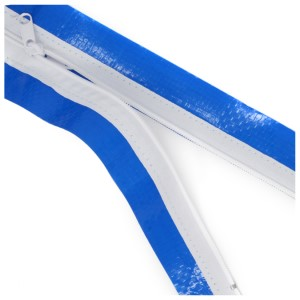 "Peel & Stick Zipper (Poly), 3"" x 84"", Price per Pack of 2"