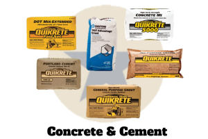 Bulk Concrete & Cement