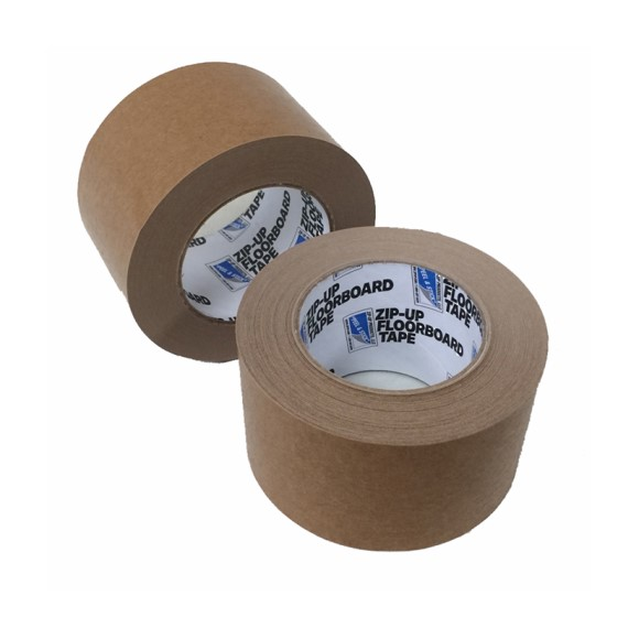 "Floor Board Tape, 3"" x 55 yd, Price per Case of 16 Rolls"